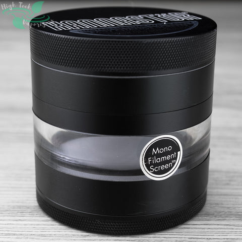 63mm Kannastor 4pc Grinder/Jar in Black