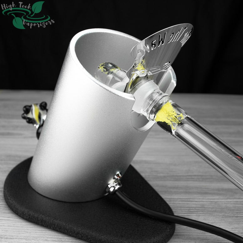 silver and black silver surfer vaporizer