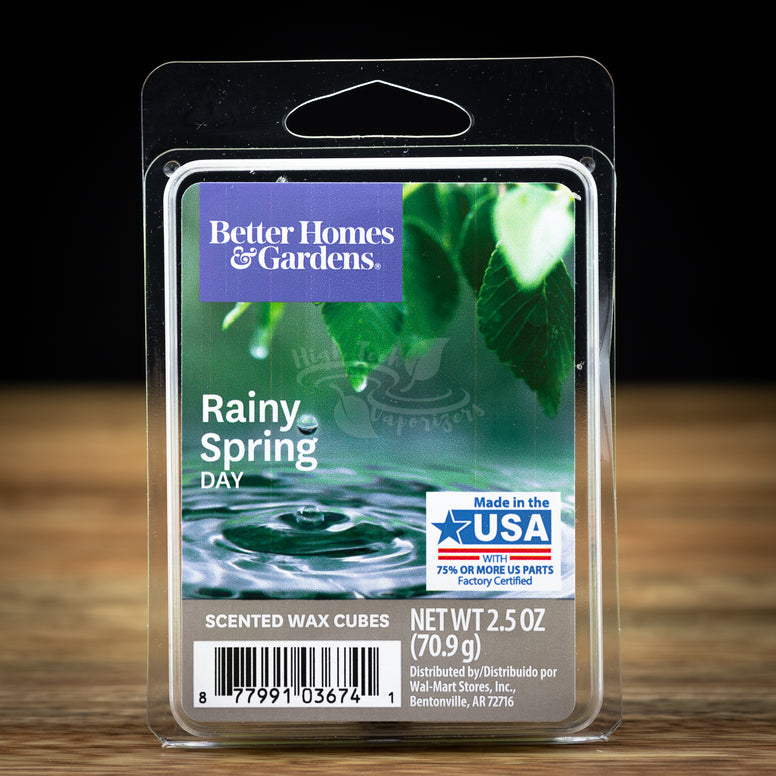 rainy spring day wax melts