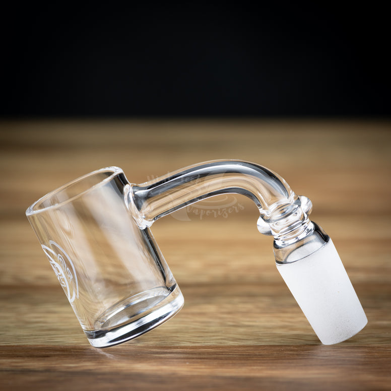 Flat Bottom Quartz banger for RIO from stache products