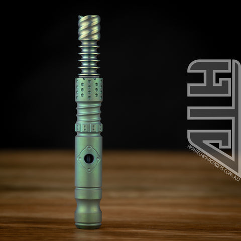 anodised assassin vapcap matte green