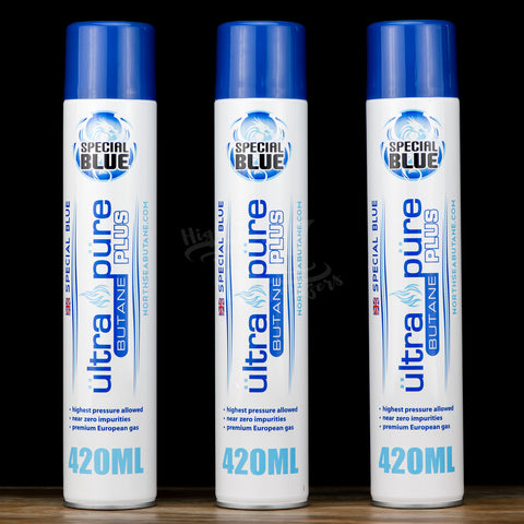 3 pack of special blue butane