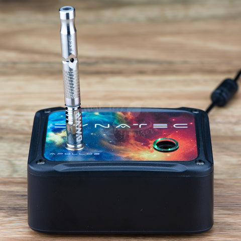 dynatec apollo 2 induction heater with 2019 m dynavap vaporizer on top