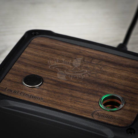 crossfire induction heater the apollo 2 in walnut