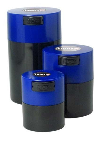 TightVac Set Of 3 blue lid black body