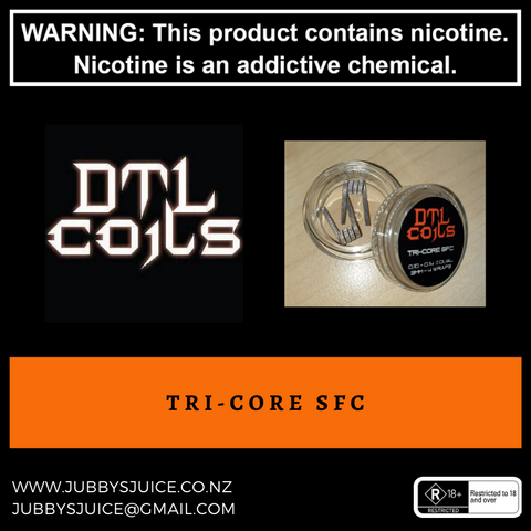 DTL Coils - Tri-Core SFC (Staggered Fused Clapton)