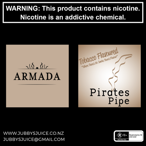Armada Vapour - Pirates Pipe 100ml