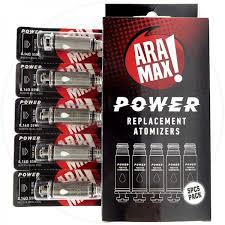 Aramax Power Replacement Coils (5-Pack)