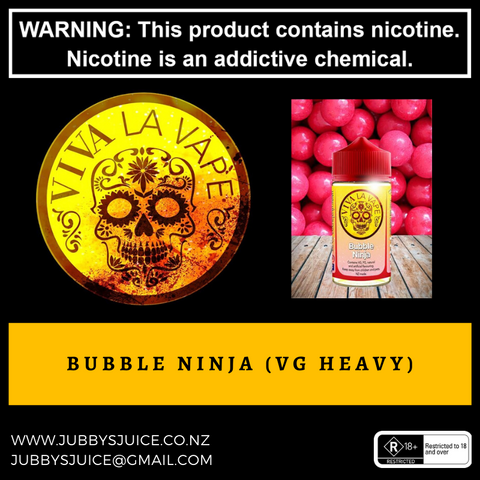 Bubble Ninja 50ml
