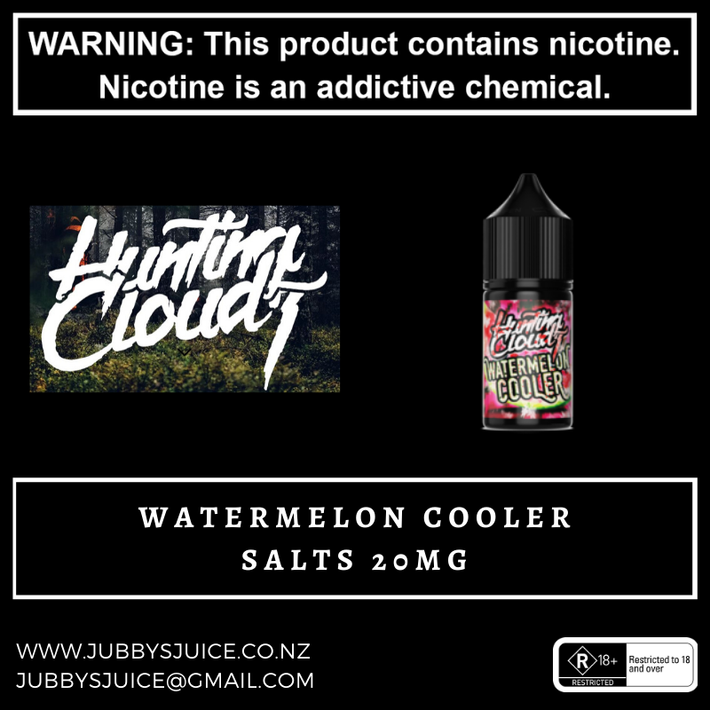 Hunting Clouds - Watermelon Cooler Salts 20mg