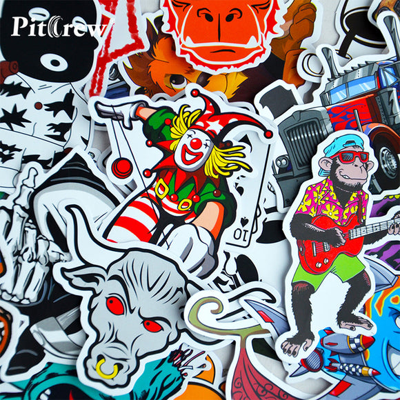 Complex Sticker Range (100Pcs) - HighAndFaded