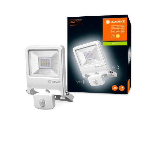 LEDVANCE ENDURA® FLOOD Sensor Warm White 3000K WT-LEDVANCE-LEDVANCE Shop