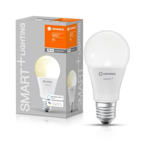 LEDVANCE SMART+ WiFi Classic Dimmable 60 9 W/2700K E27-LEDVANCE-LEDVANCE Shop