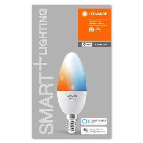 LEDVANCE Wifi SMART+ Candle Tunable White 40 5 W/2700…6500K E14-LEDVANCE-LEDVANCE Shop
