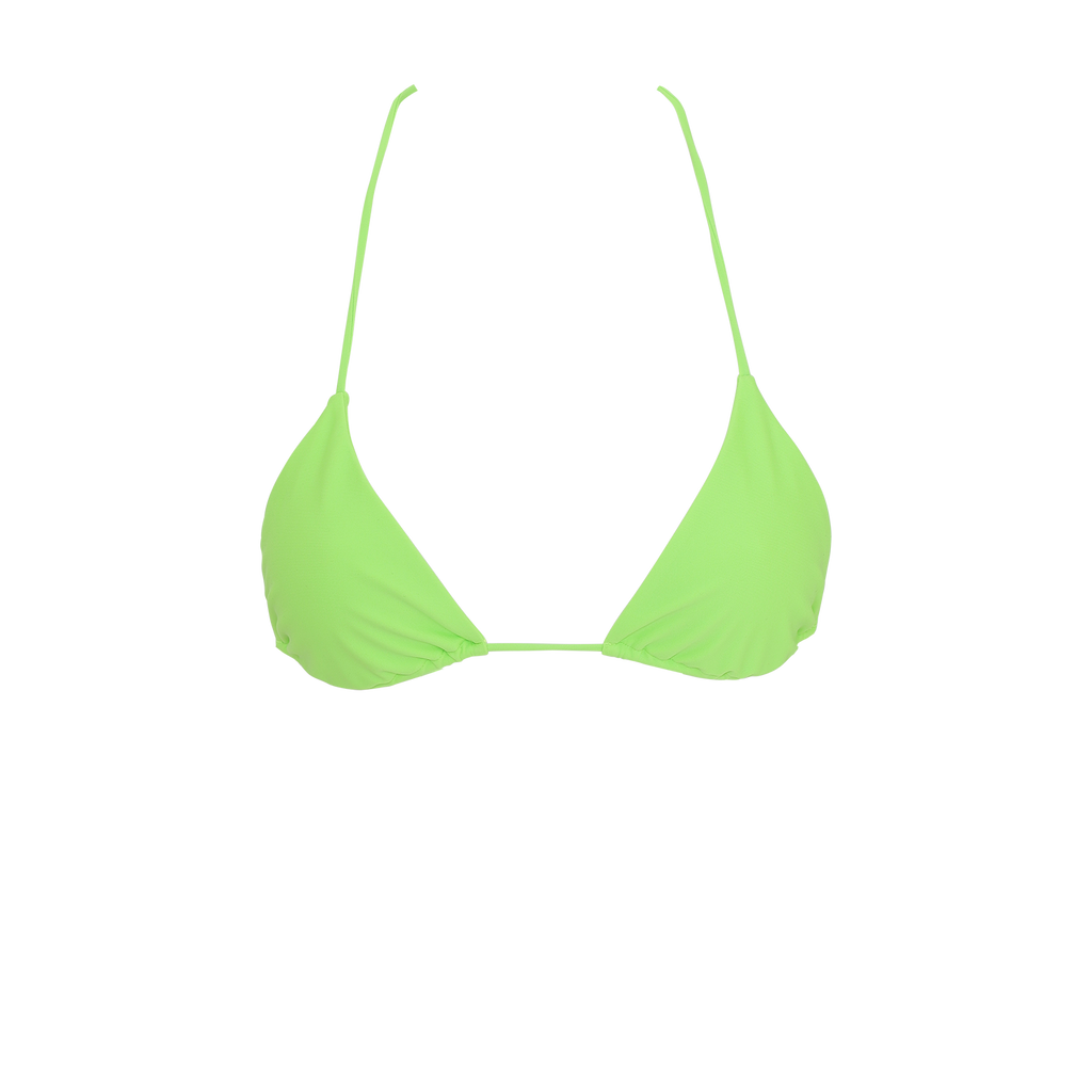 Wyomia top - lime green