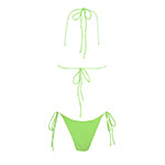 Wyomia bottom - lime green