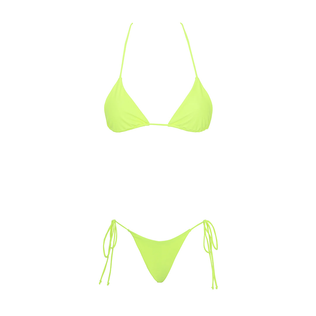 Wyomia top - neon yellow