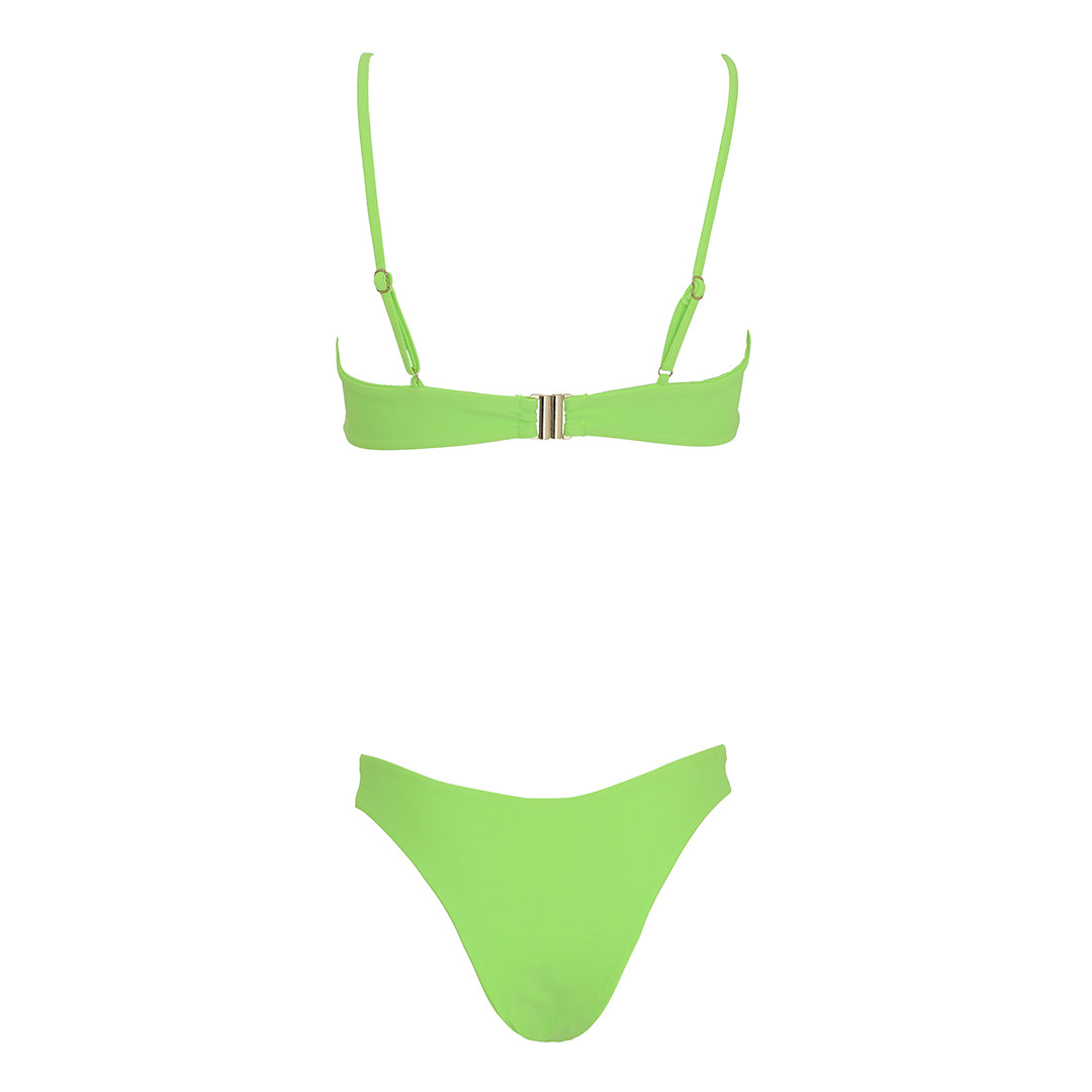 Waverly bottom - lime green