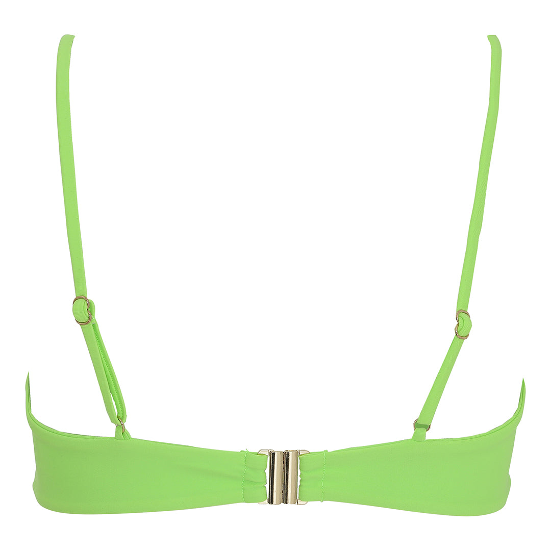 Waverly top - lime green
