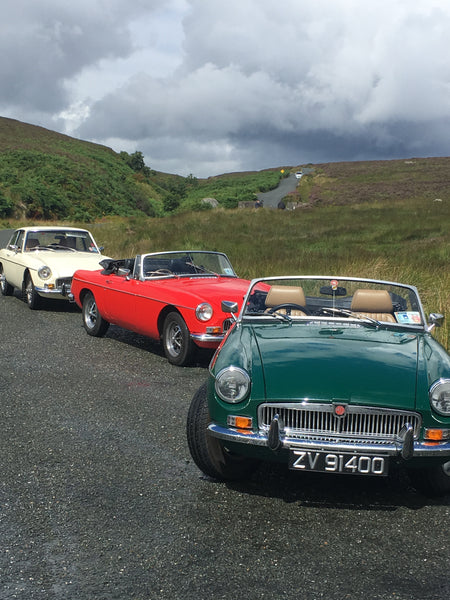Courtyard Classic Cars - Wicklow Mountains Tour