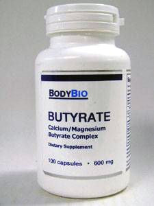 Butyrate 600 mg 100 Capsules
