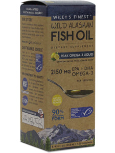 Wiley's Finest Fish Oil - Lemon Flavor (8.45 oz liquid)