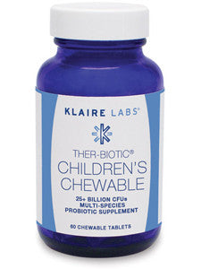 Ther-Biotic Kids Chewable Probiotic 60 Tabs
