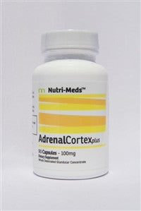 Adrenal Cortex Glandular 90 caps (100 mg Bovine Source - Nutrimeds)