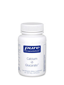 Calcium D-Glucarate 60 Capsules (500 mg)