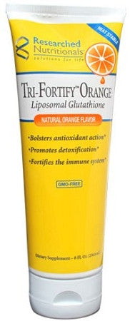 Tri-Foritfy Liposomal Glutahtione (Orange) 8 oz - 48 servings per tube