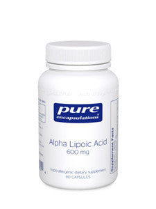 Alpha Lipoic Acid 600 mg (60 caps - Pure Encapsulations)