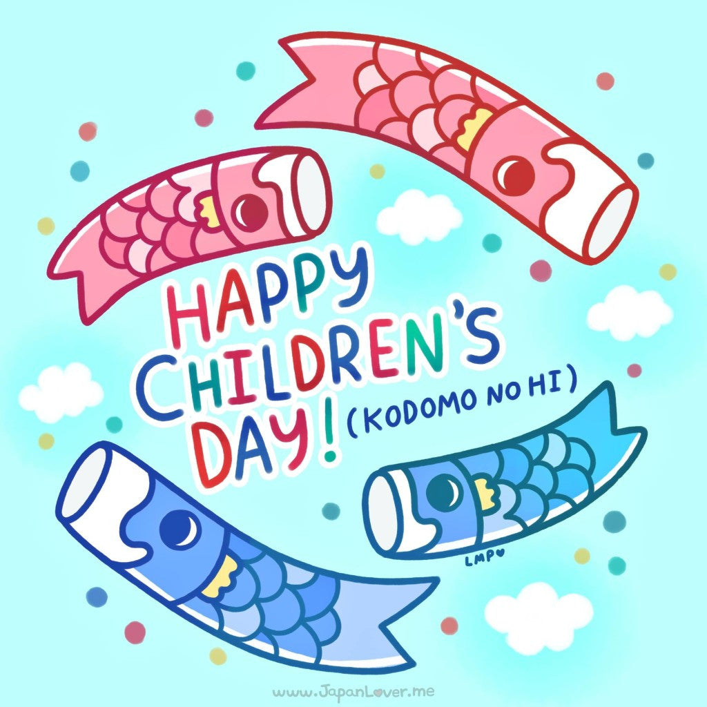 Let the World Celebrate Japan's National Children's Day