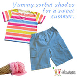 Cargo Shorts - Sebastian Kids Apparel