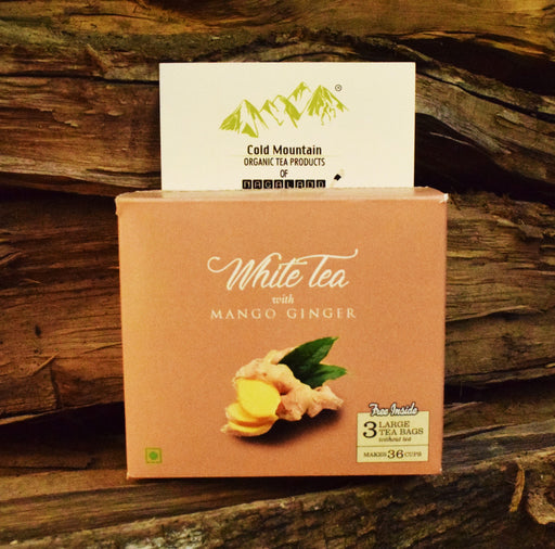 White Tea with Mango Ginger - Cold Barn