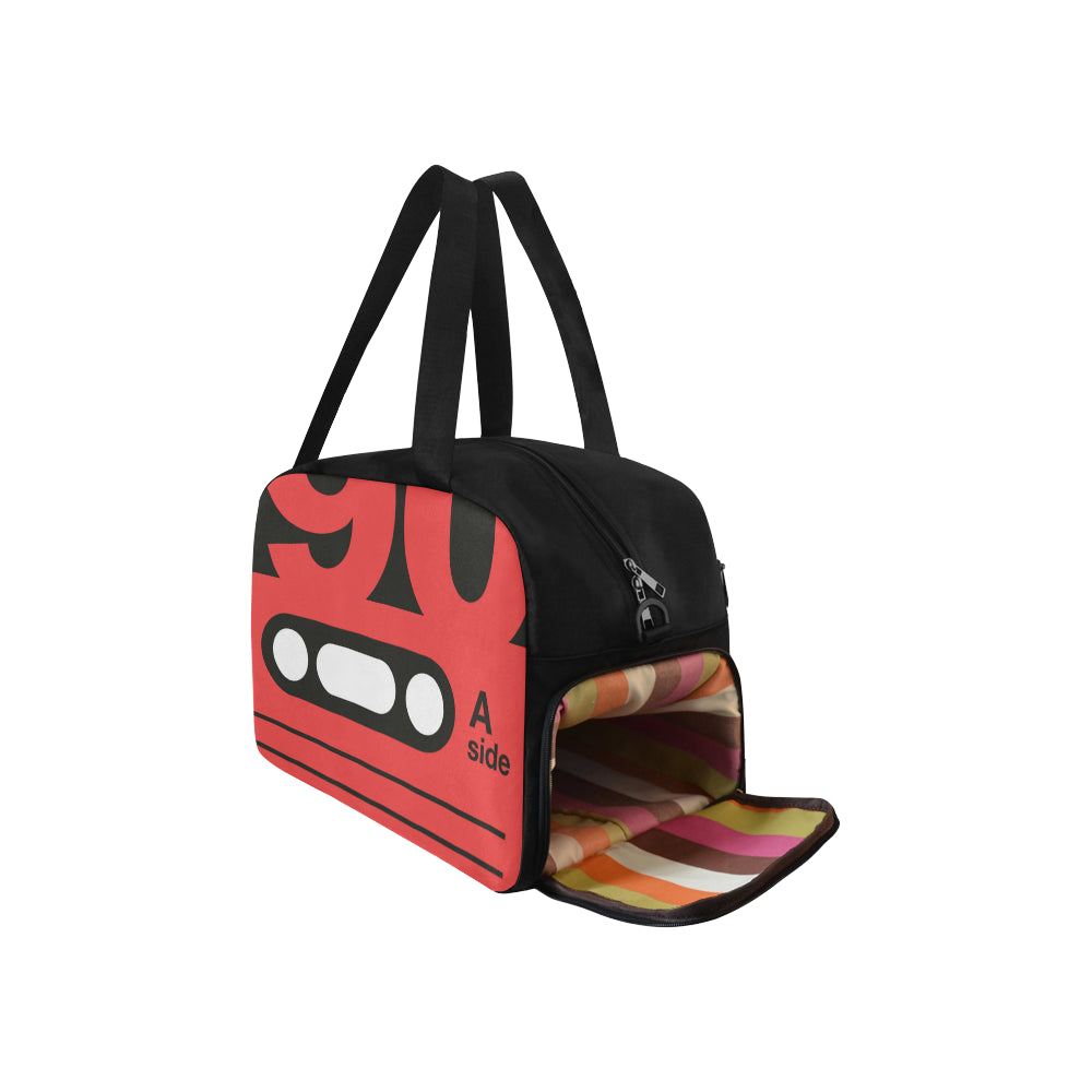 IM RETRO TOTE TRAVEL BAG CASSETTE