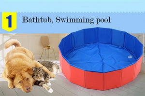 Foldable  pool Bathtub for Pets