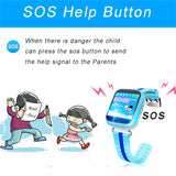 Smart Watch Tracker Phone for Kids
