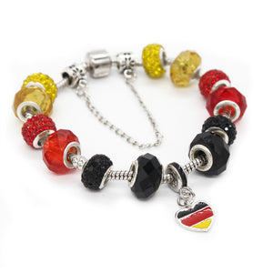 Germany Flag Charm Bracelets