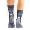 Motorcycle Cruiser II Lady Sock