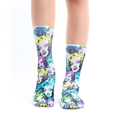Marilyn Lady Sock
