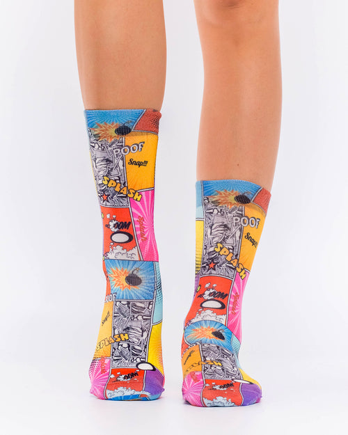 Comics Splash Lady Sock