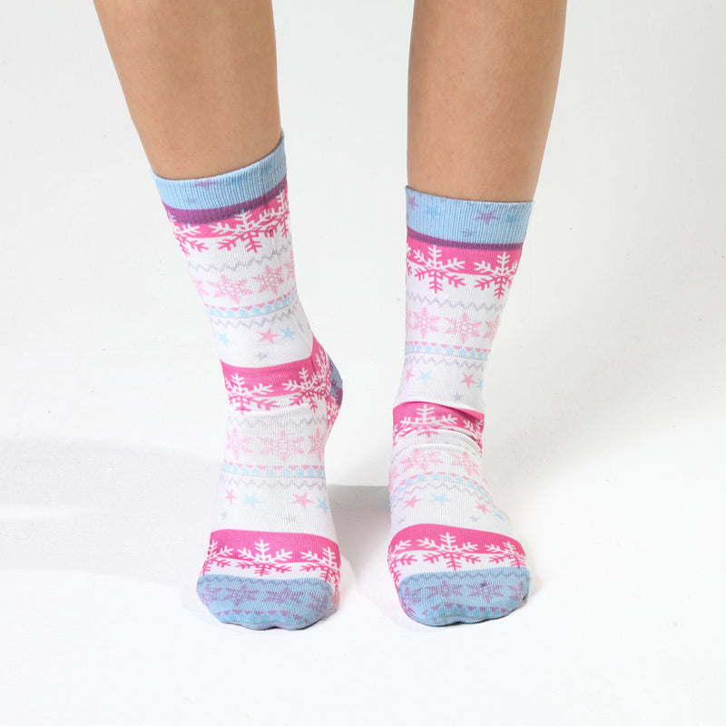 Snow Lady Sock
