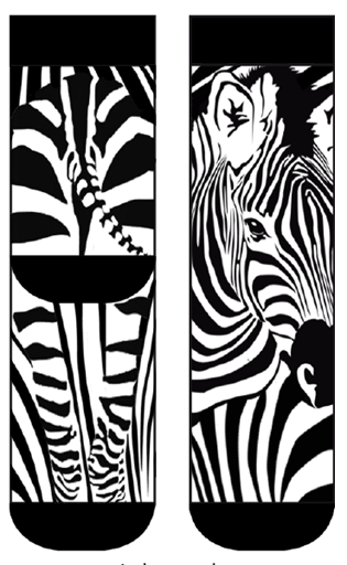 Zebra Lady Sock