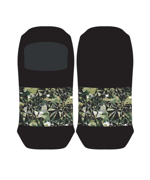 Geo Camo Men Loafer Socks