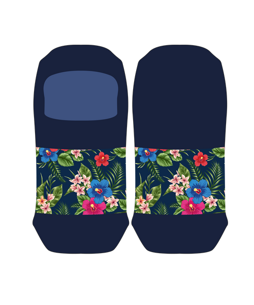 Tropical Flowers Lady Loafer