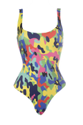 Colorfull Camo Lady Swimwear
