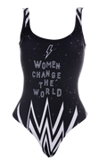 Woman Change The World Lady Swimwear