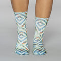 Peacock Lady Sock