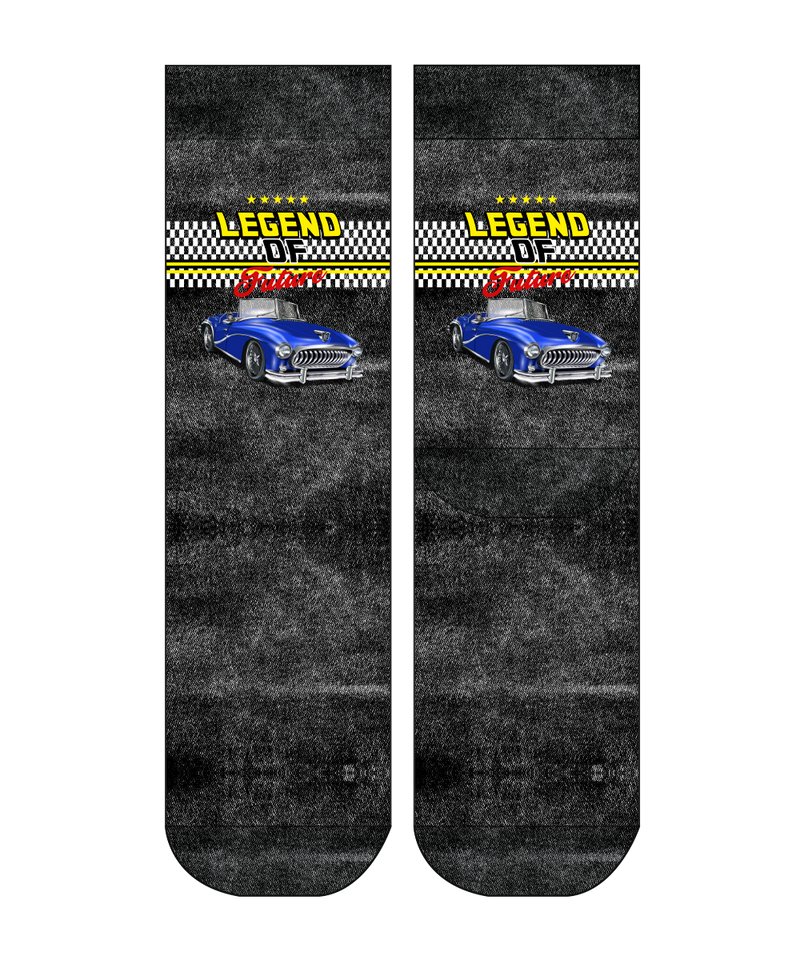 Legend Of Future II Men Sock