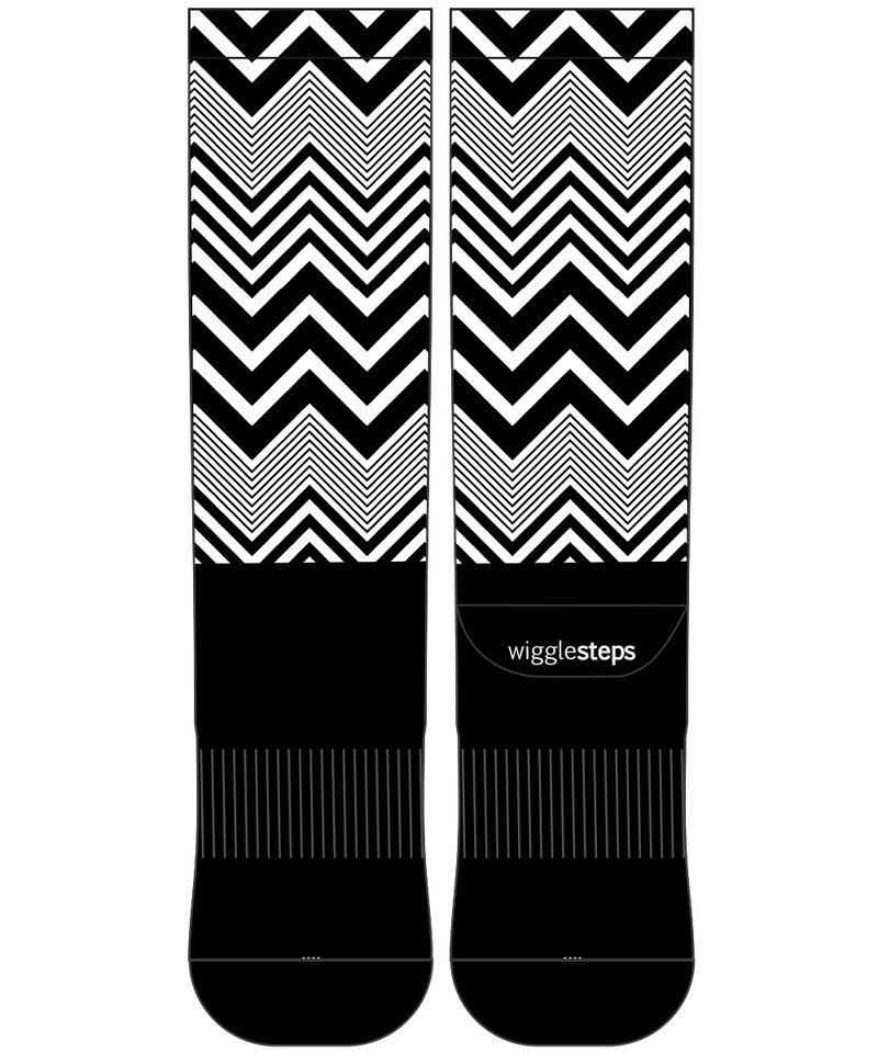 Zig Zag 2 Performance Long Sock